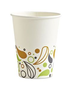 BWKDEER12HCUP DEERFIELD PRINTED PAPER HOT CUPS, 12 OZ, 1000/CARTON
