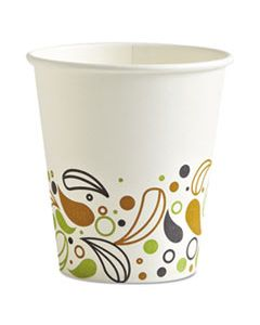 BWKDEER10HCUP DEERFIELD PRINTED PAPER HOT CUPS, 10 OZ, 1000/CARTON