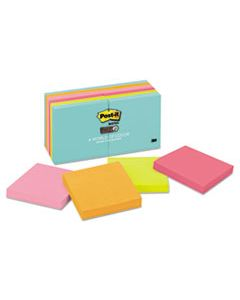 MMM65412SSMIA PADS IN MIAMI COLORS, 3 X 3, 90/PAD, 12 PADS/PACK