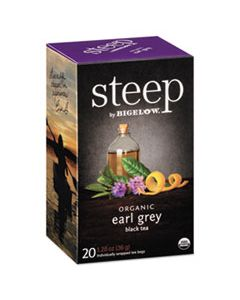 BTC17700 STEEP TEA, EARL GREY, 1.28 OZ TEA BAG, 20/BOX