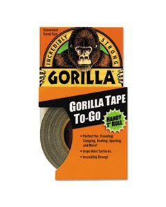 "GOR6100104 GORILLA TAPE, 1.5"" CORE, 1"" X 10 YDS, BLACK"