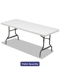ALE65620 FOLDING TABLE, 72W X 30D X 29H, PLATINUM/CHARCOAL, 15/PALLET