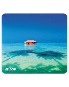 ASP31625 NATURESMART MOUSE PAD, TROPICAL MALDIVES, 8 1/2 X 8 X 1/10