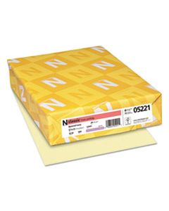 NEE05221 CLASSIC LINEN STATIONERY, 24 LB, 8.5 X 11, BARONIAL IVORY, 500/REAM