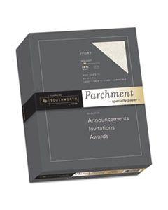 SOU984C PARCHMENT SPECIALTY PAPER, 24 LB, 8.5 X 11, IVORY, 500/REAM