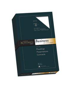 SOU403E 25% COTTON BUSINESS PAPER, 95 BRIGHT, 20 LB, 8.5 X 14, WHITE, 500/REAM