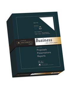 SOU404C 25% COTTON BUSINESS PAPER, 95 BRIGHT, 24 LB, 8.5 X 11, WHITE, 500/REAM