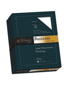 SOU403CR 25% COTTON BUSINESS PAPER, 95 BRIGHT, 20 LB, 8.5 X 11, WHITE, 500/REAM