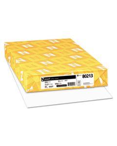 WAU80213 EXACT VELLUM BRISTOL MEDIUM HEAVYWEIGHT PAPER, 67 LB, 11 X 17, WHITE, 250/PACK