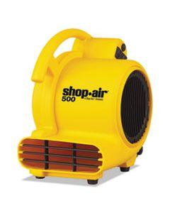 "SHO1032000 MINI AIR MOVER, YELLOW, 8"", PLASTIC, 500 CFM"