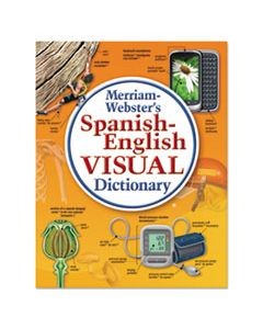 MER2925 SPANISH-ENGLISH VISUAL DICTIONARY, PAPERBACK, 1152 PAGES