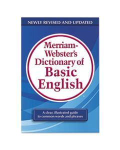 MER7319 DICTIONARY OF BASIC ENGLISH, PAPERBACK, 800 PAGES