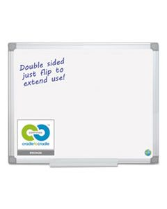 BVCMA2100790 EARTH SILVER EASY CLEAN DRY ERASE BOARDS, 48 X 96, WHITE, ALUMINUM FRAME