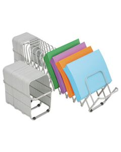 """LEE14124 FLEXIFILE EXPANDABLE COLLATOR TO ORGANIZER, 24 SECTIONS, LETTER TO LEGAL SIZE FILES, 6.5"""" X 10.25"""" X 10.5"""", SILVER"""