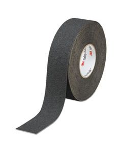 "MMM19294 SAFETY-WALK SLIP-RESISTANT MEDIUM RESILIENT TREAD ROLLS, BLACK, 2"" X 60FT, 2/CT"