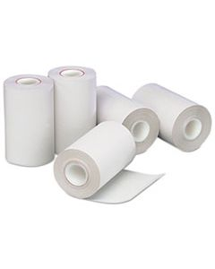 """PMC05260 DIRECT THERMAL PRINTING PAPER ROLLS, 0.5"""" CORE, 2.25"""" X 55 FT, WHITE, 50/CARTON"""