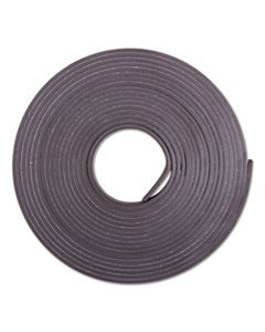 "BAU66010 ADHESIVE-BACKED MAGNETIC TAPE, BLACK, 1/2"" X 10FT, ROLL"