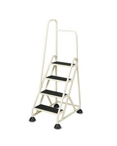 """CRA1041L19 STOP-STEP LADDER, 66.25"""" WORKING HEIGHT, 300 LBS CAPACITY, 4 STEP, BEIGE"""