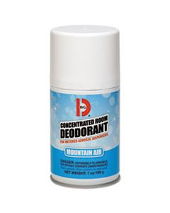 BGD463 METERED CONCENTRATED ROOM DEODORANT, MOUNTAIN AIR SCENT, 7 OZ AEROSOL, 12/CARTON