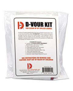 BGD169 D'VOUR CLEAN-UP KIT, POWDER, ALL INCLUSIVE KIT, 6/CARTON