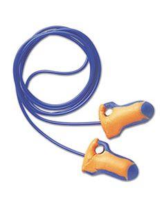 HOWLT30 LT-30 LASER TRAK SINGLE-USE EARPLUGS, CORDED, 32NRR, ORANGE/BLUE, 100 PAIRS