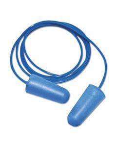 BWK00038 DETECTABLE EARPLUGS, CORDED, BLUE