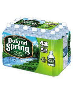 NLE1098091 NATURAL SPRING WATER, 8 OZ BOTTLE, 48 BOTTLES/CARTON
