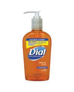 DIA84014CT GOLD ANTIMICROBIAL HAND SOAP, FLORAL FRAGRANCE, 7.5 OZ PUMP BOTTLE, 12/CARTON