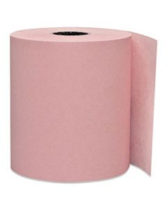 """PMC05214P DIRECT THERMAL PRINTING PAPER ROLLS, 0.45"""" CORE, 3.13"""" X 230 FT, PINK, 50/CARTON"""