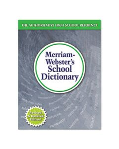 MER6800 SCHOOL DICTIONARY, GRADES 9-11, HARDCOVER, 1,280 PAGES