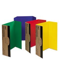 PAC37654 SPOTLIGHT CORRUGATED PRESENTATION DISPLAY BOARDS, 48 X 36, ASSORTED, 4/CARTON