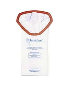 APCJANPTSCP102 VACUUM FILTER BAGS DESIGNED TO FIT PROTEAM SUPER COACH PRO 10, 100/CT