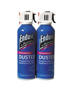 END246050 NON-FLAMMABLE DUSTER WITH BITTERANT, 3.5 OZ, 2 CANS/PACK
