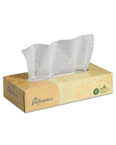 GPC48100 FACIAL TISSUE, 2-PLY, WHITE, FLAT BOX, 100 SHEETS/BOX, 30 BOXES/CARTON
