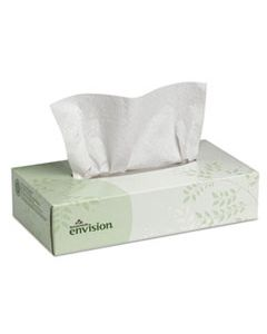 GPC47410 FACIAL TISSUE, 2-PLY, WHITE, 100 SHEETS/BOX, 30 BOXES/CARTON