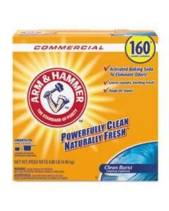 CDC3320000109 POWDER LAUNDRY DETERGENT, CLEAN BURST, 9.86 LB, BOX, 3/CARTON
