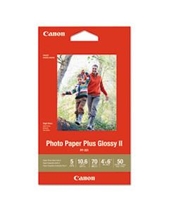 CNM1432C005 PHOTO PAPER PLUS GLOSSY II, 4 X 6, GLOSSY WHITE, 50/PACK