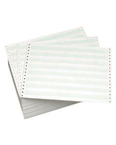 DMR118109 CONTINUOUS FORMS, 1-PART, 15LB, 8.5 X 11.75, WHITE, 3, 500/CARTON