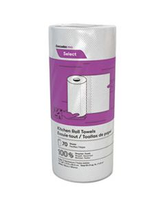CSDK070 SELECT PERFORATED ROLL TOWELS, 2-PLY, 8 X 11, WHITE, 70/ROLL, 30 ROLLS/CARTON