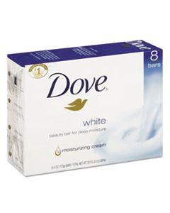 DVOCB610795CT WHITE BEAUTY BAR, LIGHT SCENT, 4.25 OZ, 72/CARTON