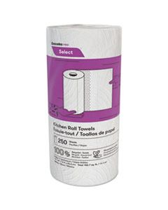 CSDK250 SELECT KITCHEN ROLL TOWELS, 2-PLY, 8 X 11, 250/ROLL, 12/CARTON