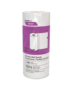 CSDK085 SELECT KITCHEN ROLL TOWELS, 2-PLY, 8 X 11, 85/ROLL, 30/CARTON