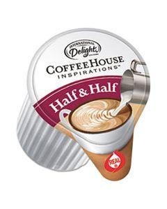 ITD102042 COFFEE HOUSE INSPIRATIONS HALF & HALF, .375OZ, 180/CARTON
