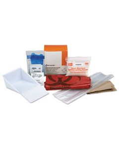 "FAO21760 BBP SPILL CLEANUP KIT, 3.625"" X 4.312"" X 2.25"""