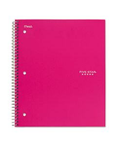 MEA06112 TREND WIREBOUND NOTEBOOK, 5 SUBJECTS, MEDIUM/COLLEGE RULE, ASSORTED COLOR COVERS, 11 X 8.5, 200 SHEETS