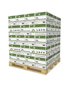 CASOX9001PLT X-9 MULTI-USE COPY PAPER, 92 BRIGHT, 20LB, 8.5 X 11, WHITE, 500 SHEETS/REAM, 10 REAMS/CARTON, 40 CARTONS/PALLET
