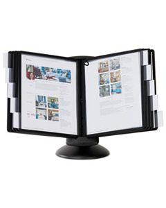 DBL553901 SHERPA MOTION DESK REFERENCE SYSTEM, 10 PANELS, BLACK BORDERS