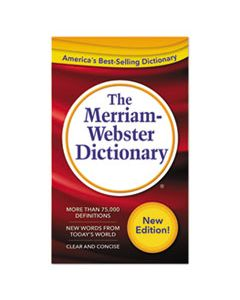 MER2956 THE MERRIAM-WEBSTER DICTIONARY, 11TH EDITION, PAPERBACK, 960 PAGES
