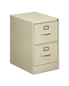 ALEVF1929PY TWO-DRAWER ECONOMY VERTICAL FILE CABINET, LEGAL, 18.25W X 25D X 29H, PUTTY
