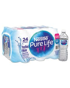 NLE101264CT PURE LIFE PURIFIED WATER, 16.9 OZ BOTTLE, 24/CARTON
